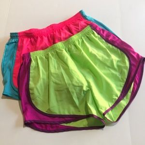 2 Nike dry fit shorts